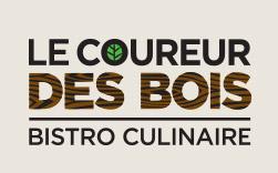 Logo Le Coureur des Bois - Bistro Culinaire