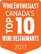 Wine Enthusiast Canada's Top 10 Wine Restaurants