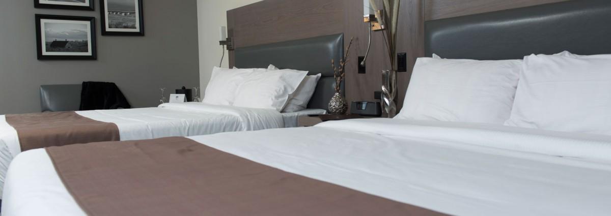Room Rive Gauche – 2 Queen size bed