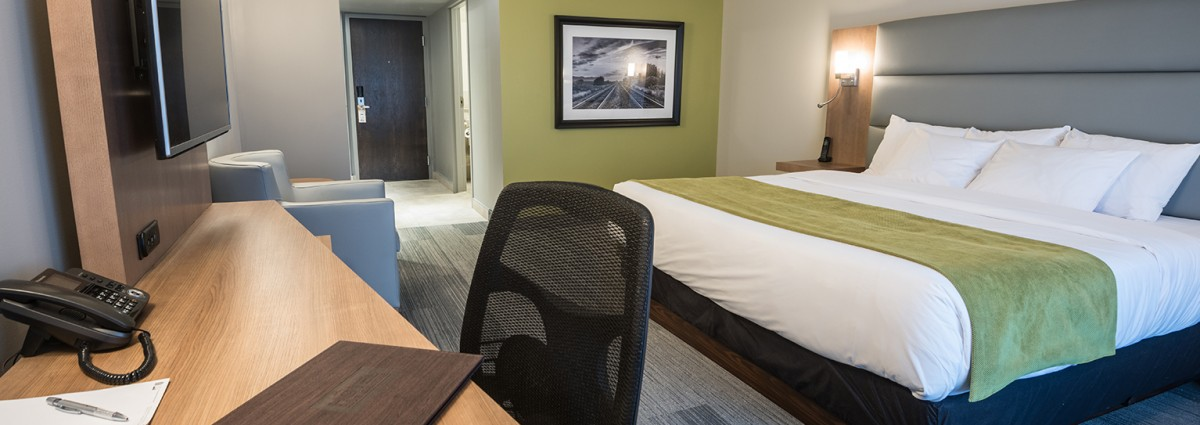 Room Refuge Urbain accessible – 1 King size bed